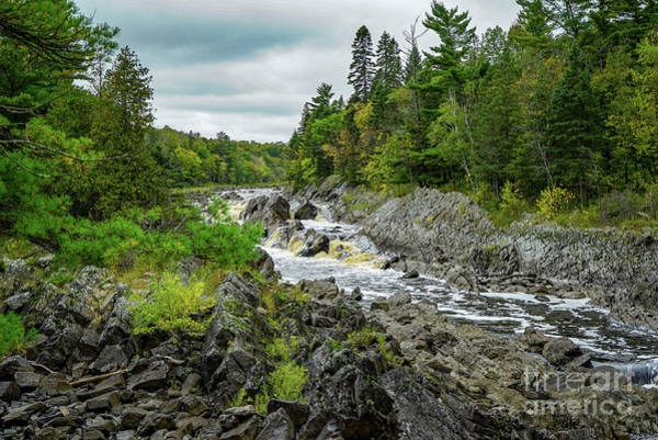 Photograph - St. Louis River Falls by Susan Rydberg