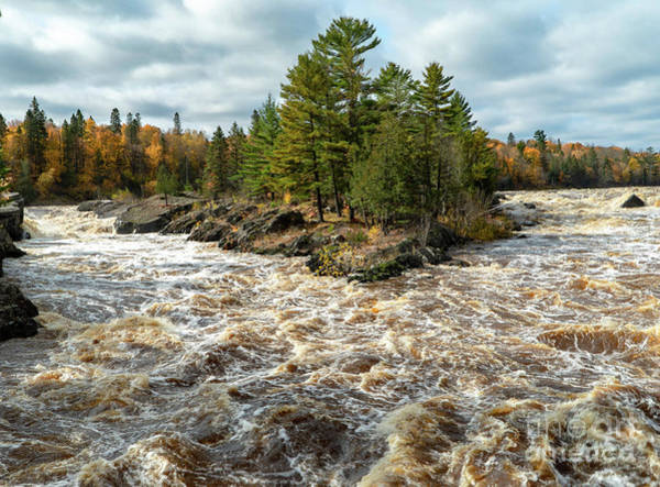 Photograph - St. Louis River Rapids by Susan Rydberg