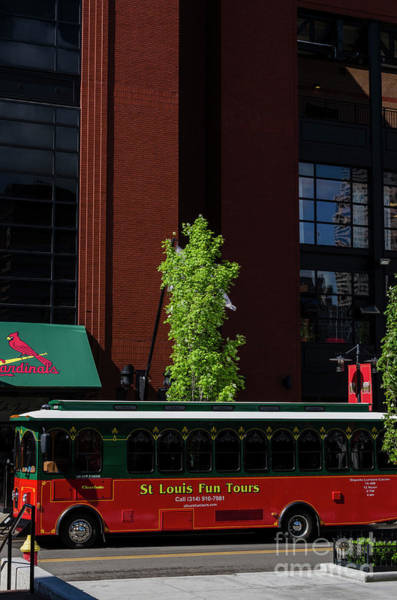 Photograph - St Louis Trolley by Thomas R Fletcher