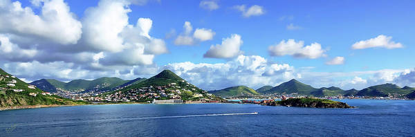 Photograph - St. Maarten Panorama by Rick Lawler