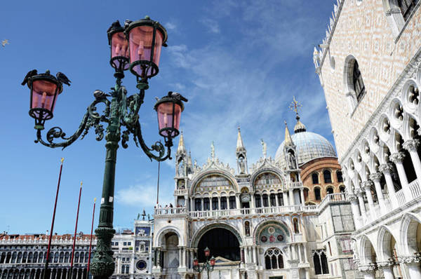 St Mark's Basilica Photograph - St. Marks Cathedral, Venice by Alxpin