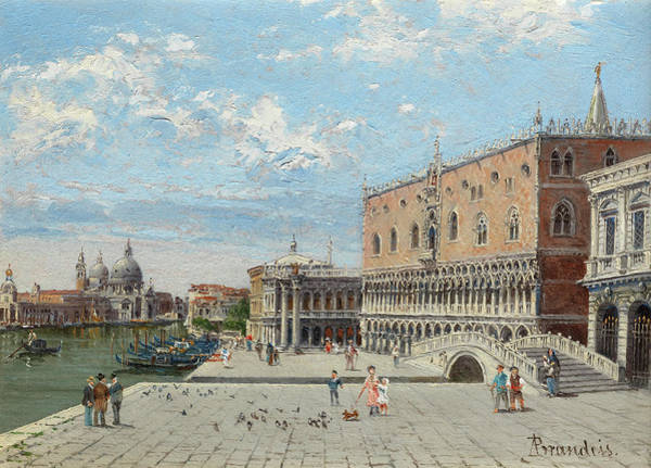 Wall Art - Painting - St Marks, Venice by Antonietta Brandeis