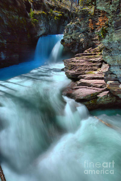 Wall Art - Photograph - St. Mary Falls Sping Portrait by Adam Jewell