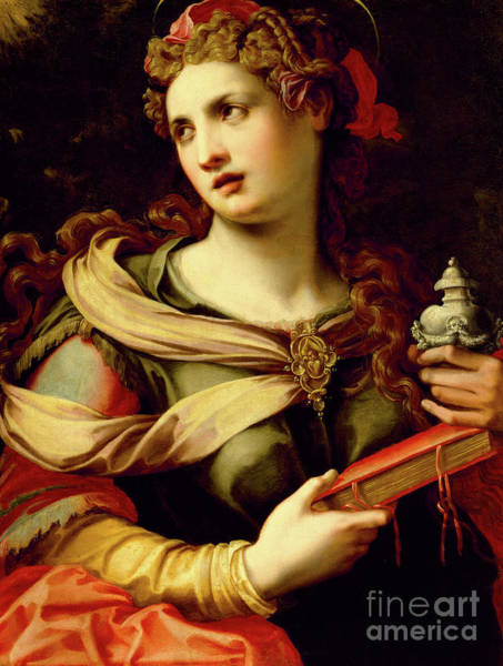 Wall Art - Painting - St Mary Magdalene, 1560s by Michele di Ridolfo Tosini
