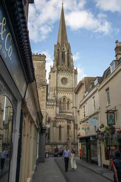 Photograph - St. Matthews Church In Bath Uk  by John McGraw
