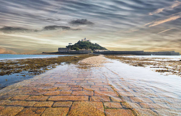 Wall Art - Photograph - St Michaels Mount Sunsets by Martin Newman