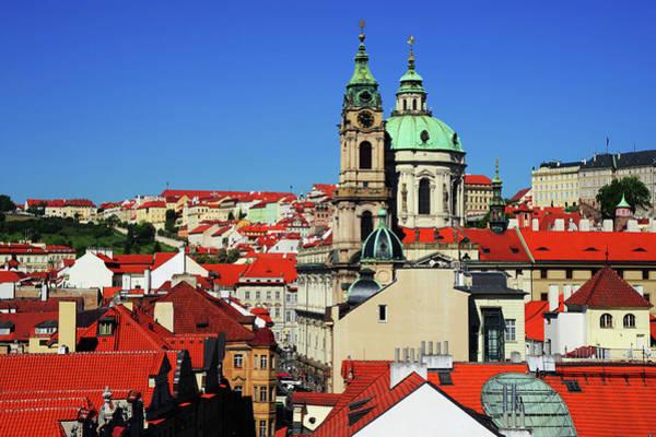 Wall Art - Photograph - St. Nicholas Church And Mala Strana Red Roofs by Jenny Rainbow