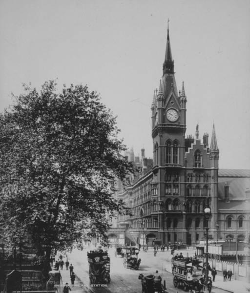 Wall Art - Photograph - St Pancras by London Stereoscopic Company