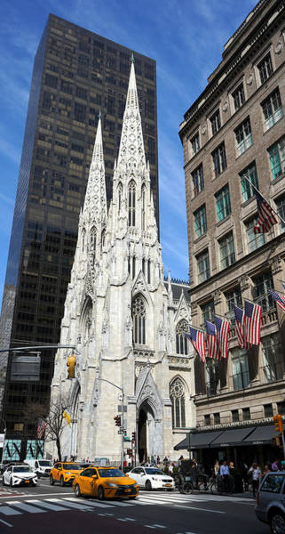 Wall Art - Photograph - St Patricks Cathedral by Andrew Fare