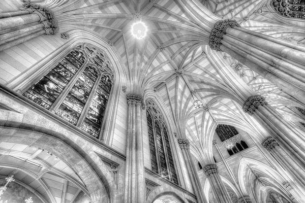 Wall Art - Photograph - St Patrick's Cathedral Infrared by David Pyatt