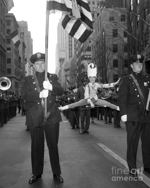 Wall Art - Photograph - St. Patricks Day Parade by New York Daily News