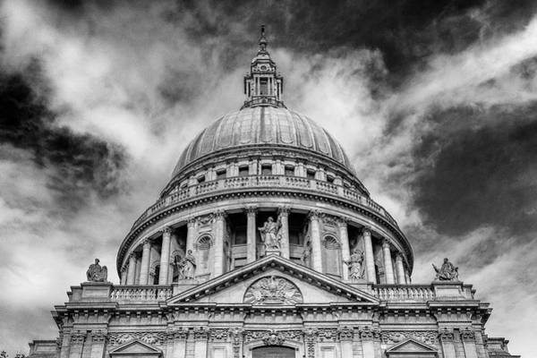Wall Art - Photograph - St Paul's Cathedral Dome #2 by Stephen Stookey