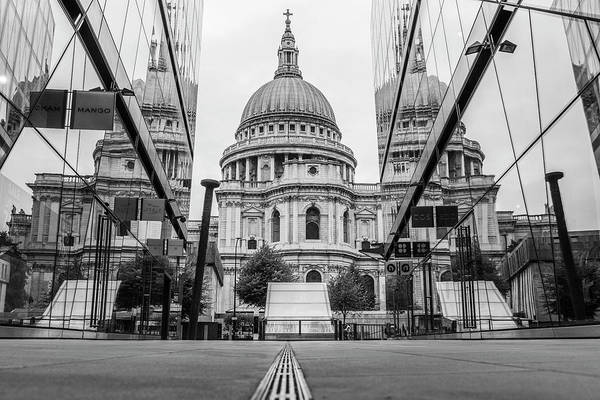 Photograph - St Pauls Cathedral London  by John McGraw