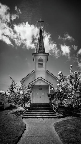 Wall Art - Photograph - St. Paul's Catholic Church 3 by Mike Penney