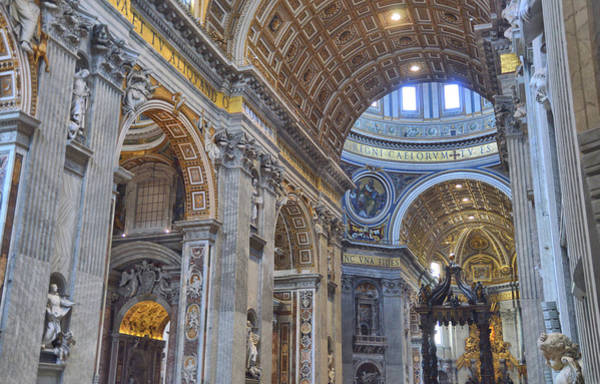 Photograph - St Peter's Altar by JAMART Photography