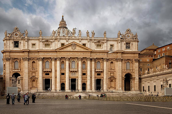 Photograph - St. Peter's Basilica by Jacqui Boonstra