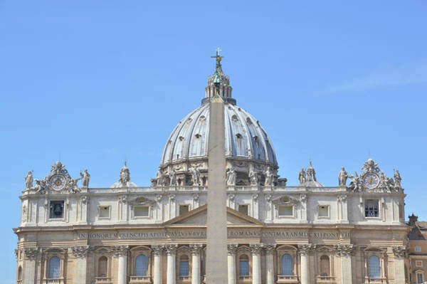 Photograph - St. Peter's Basilica by JAMART Photography