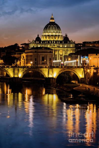 Photograph - St. Peters Basilica by Scott Kemper