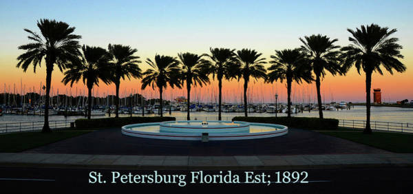 Wall Art - Photograph - St. Petersburg Florida Pano Work A by David Lee Thompson
