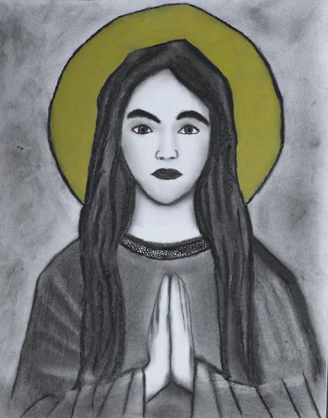 Drawing - St. Philomena by Nadija Armusik