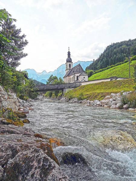 Photograph - St. Sebastian - Ramsau by Juergen Weiss