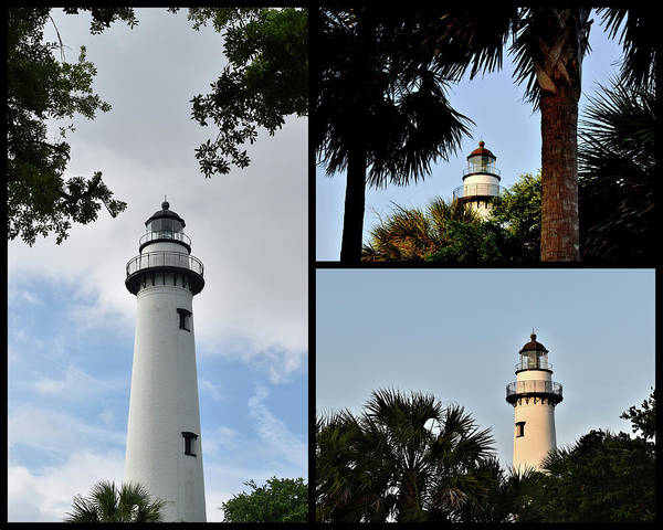 Photograph - St. Simons Island Lighthouse by Kathy K McClellan