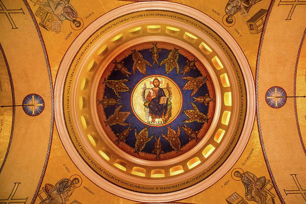 Photograph - St. Sophia Ceiling by Don Johnson