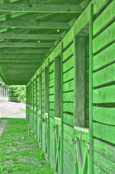 Photograph - Stables Of Green by JAMART Photography