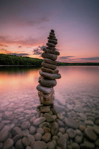 Photograph - Stacked And Set by Josh Eral