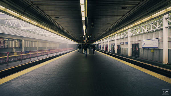 Wall Art - Photograph - Stadium Station by Sean Dimitrie