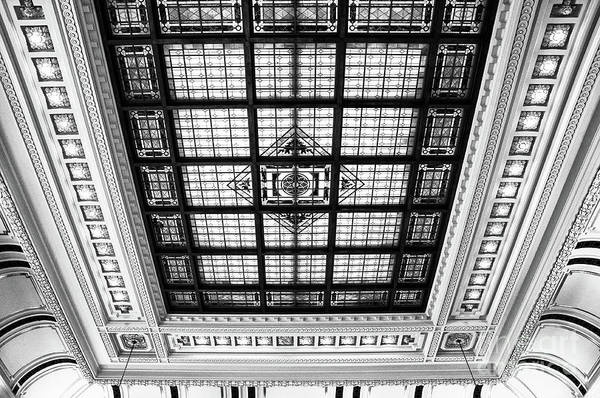 Wall Art - Photograph - Stained Glass Hoboken Terminal by Regina Geoghan