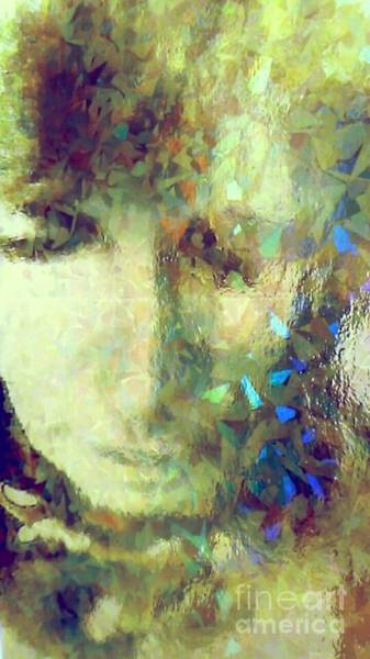 Wall Art - Photograph - Stained Glass Tears by Lisa Simmons