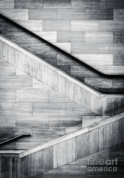 Wall Art - Photograph - Staircases In The National Museum Of by Jon Bilous