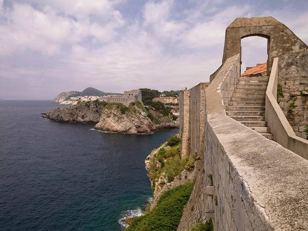 Dubrovnik Photograph - Stairs Along The Coast by Design Pics / Keith Levit