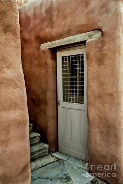 Wall Art - Photograph - Stairs And Door by Jon Burch Photography