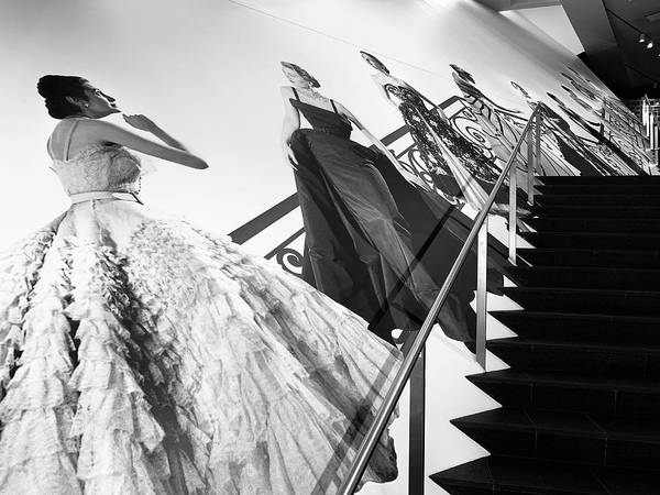 Denver Art Museum Photograph - Stairs To Christian Dior by Marilyn Hunt