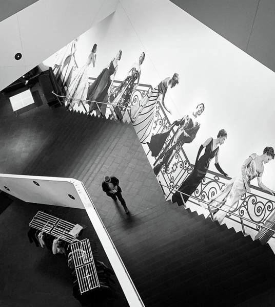 Denver Art Museum Photograph - Stairs To Dior by Marilyn Hunt