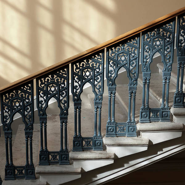 Wall Art - Photograph - Stairway In Grand Choral Synagogue by Keith Levit / Design Pics