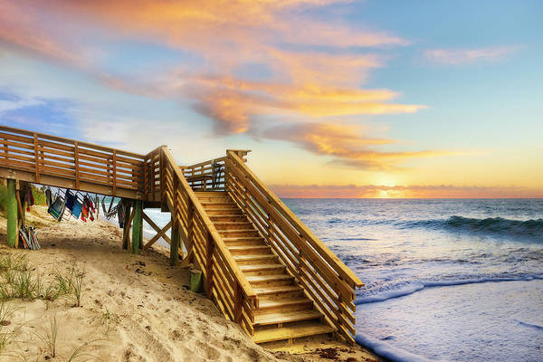 Wall Art - Photograph - Stairway To Paradise by Debra and Dave Vanderlaan