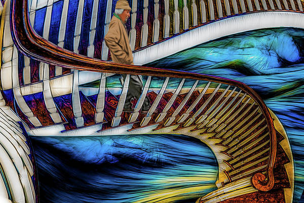 Wall Art - Photograph - Stairway To Perdition by Paul Wear