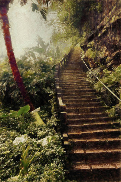 Photograph - Stairway To Yesterday by Rick Lawler
