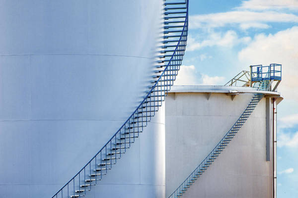 Petroleum Wall Art - Photograph - Stairways To by Todd Klassy