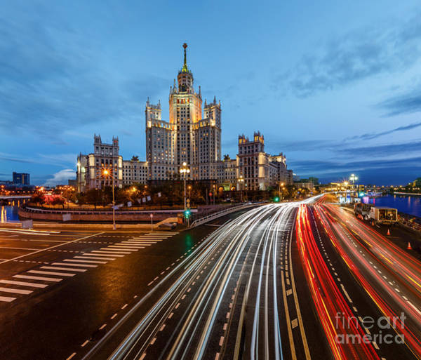 Wall Art - Photograph - Stalin Skyscraper On Kotelnicheskaya by Ansharphoto