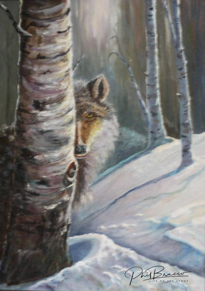 Painting - Stalking by Philip Bracco