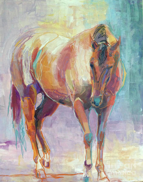 Wall Art - Painting - Stallion by Kimberly Santini