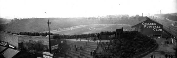 Crowd Photograph - Stamford Bridge by Alfred Hind Robinson
