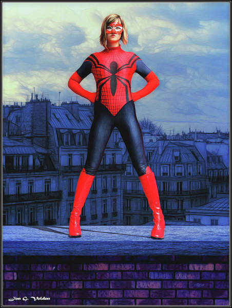 Photograph - Stance Of A Spider Woman by Jon Volden