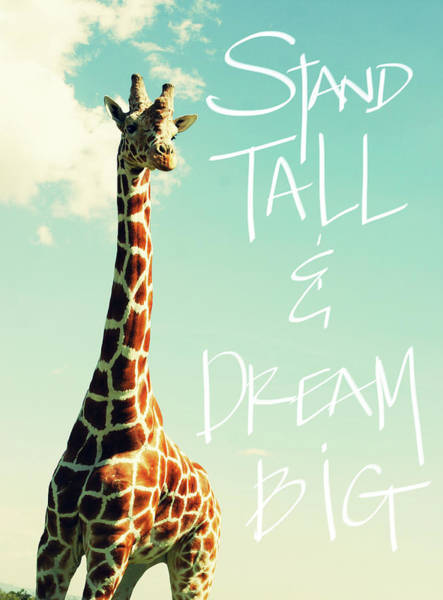 Wall Art - Painting - Stand Tall And Dream Big by Susan Bryant