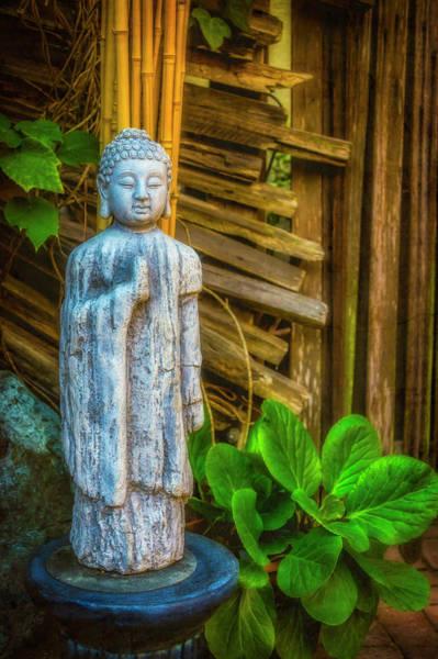 Wall Art - Photograph - Standing Buddha by Garry Gay