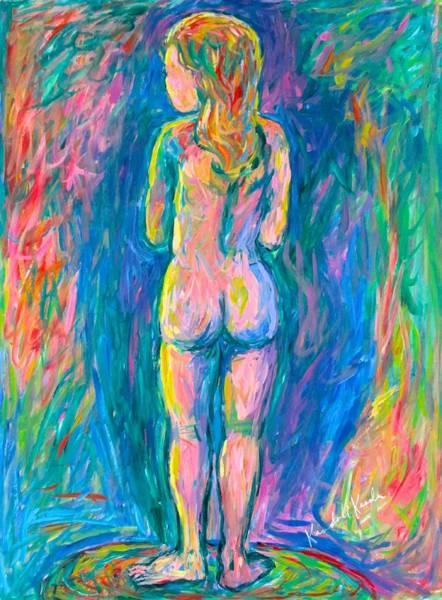 Painting - Standing Shadows by Kendall Kessler